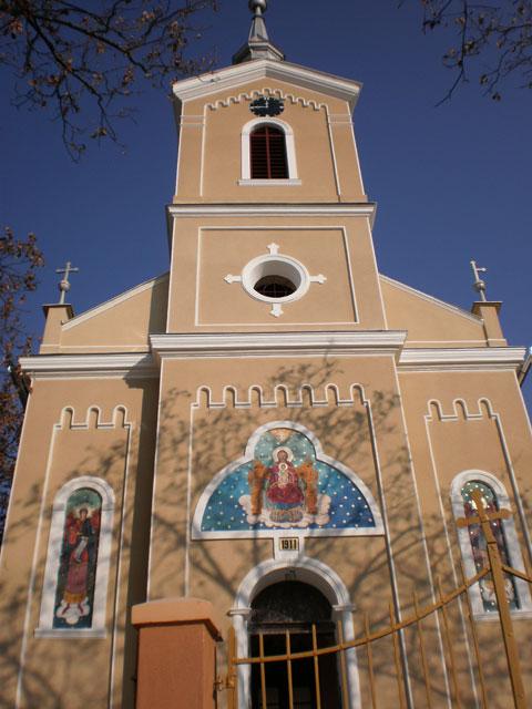Invitatie: Resfintirea Bisericii din Sauca dupa renovarea exteriorului – 13 noiembrie 2011,