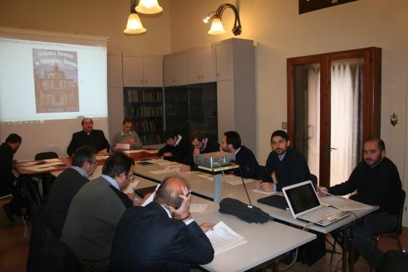 Întâlnirea preotilor greco-catolici români din Protopiatul de Triveneto (Italia) la Vicenza,