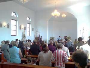Sfintirea holdelor la Curtuiuseni de Rusalii,