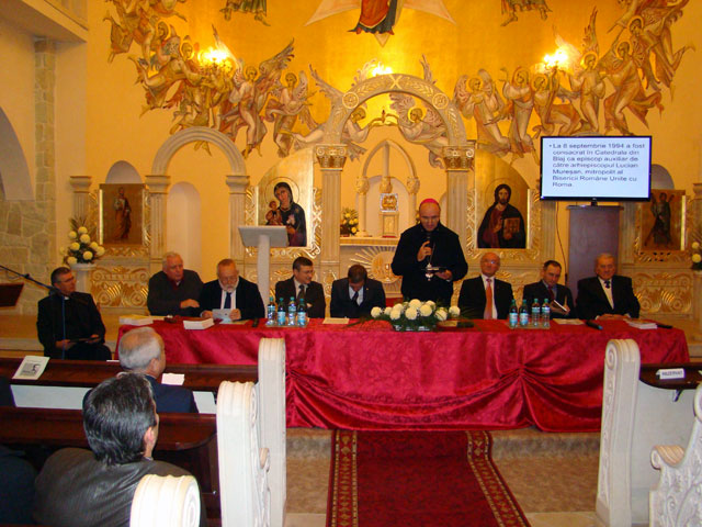 Comemorarea profesorului Francisc Pall la Carei,