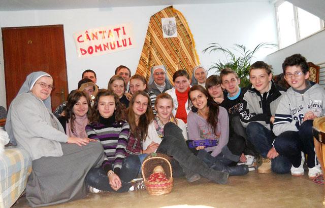 Reculegere spirituala pentru tinerii din Protopopiatul de Beius,