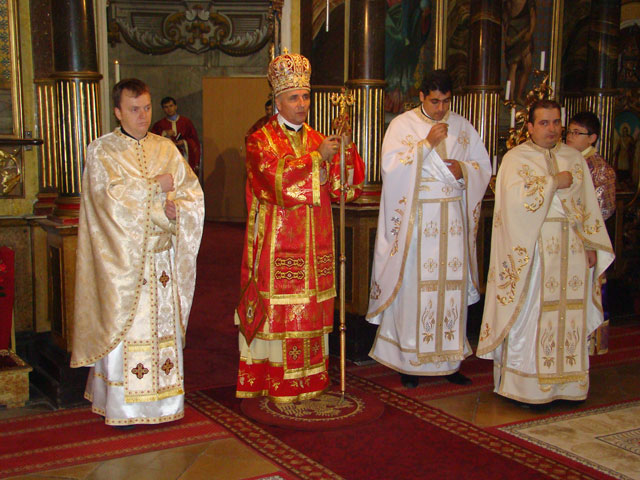 "Sfintire de preoti la Catedrala ""Sfântul Nicolae"","