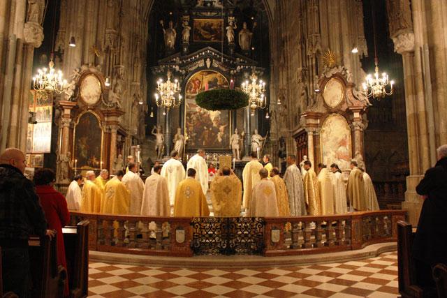 """""""Întâlnirea Preotilor Greco-Catolici din Austria – Viena, 3 decembrie 2011"""","""