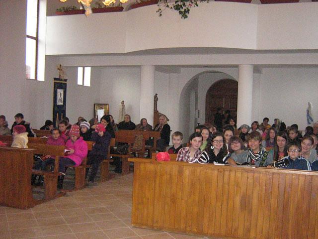 Sfântul Nicolae a venit la Chilioara pentru copiii din Protopopiatul Zalau,