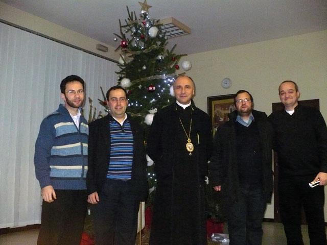 P.S. Virgil Bercea în vizita la Padova,