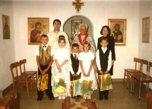 Prima Sfânta Împartasanie la Badacin,