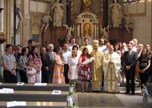 Sfânta Liturghie arhiereasca la Graz,