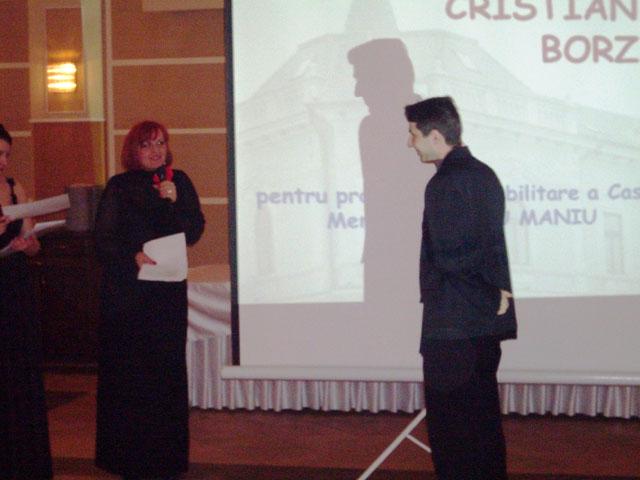Parintele Cristian Borz premiat la Gala Premiilor Culturale Salajene,