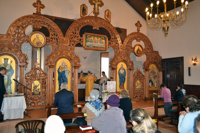 "P.S. Virgil în vizita pastorala la Parohia ""Duminica Tuturor Sfintilor"" (Don Orione) din Oradea,"