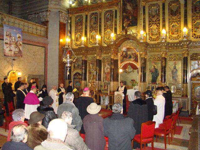 Încheierea Saptamânii de rugaciune pentru unitatea crestinilor la Catedrala Sfântul Nicolae,
