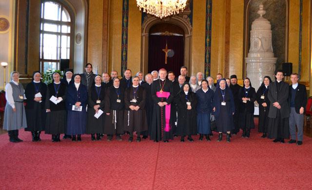 Ziua Persoanelor Consacrate 2012,
