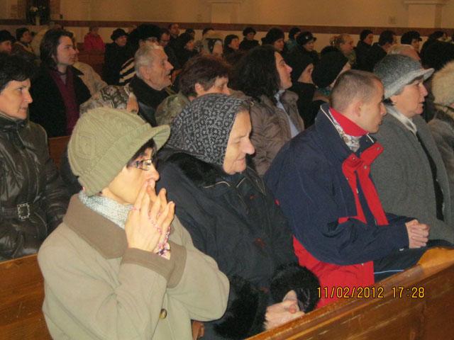 """Ziua Bolnavului la Manastirea Franciscana """"Maica Domnului"""","""