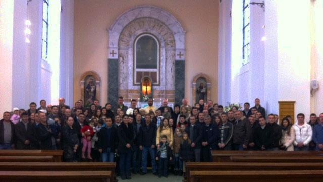 Prima Liturghie greco-catolica româneasca la Londra,