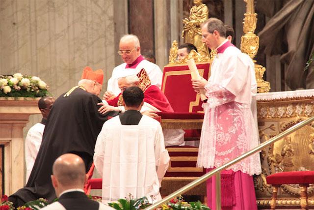 Preafericirea Sa Lucian Muresan creat Cardinal al Bisericii Catolice. Roma 18-20 februarie 2012,