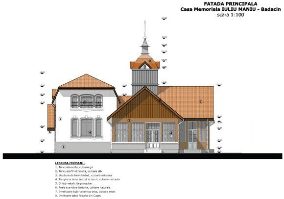 """""""Sprijiniti Proiectul Refunctionalizarea Casei Memoriale """"Iuliu Maniu"""" între istorie, memorie si prezent"""","""