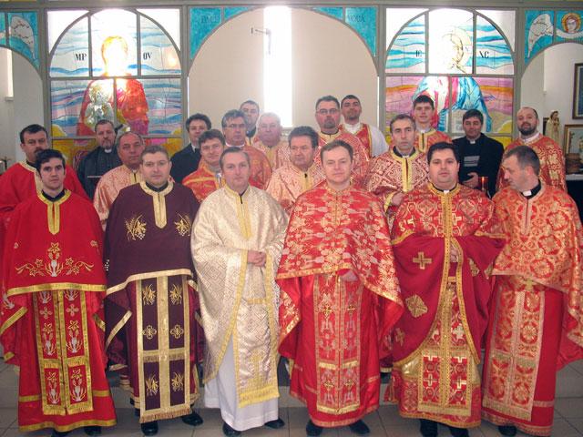 Exercitii spirituale pentru preotii din Eparhia de Oradea,