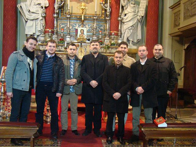 """""""Întâlnirea ipodiaconilor greco-catolici din regiunea Emilia Romagna, Italia"""","""