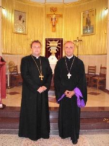 """Vizita pastorala a PS. Virgil Bercea în Grecia, insula Kefalonia, Parohia Catolica Sf. Ierarh Nicolae"","