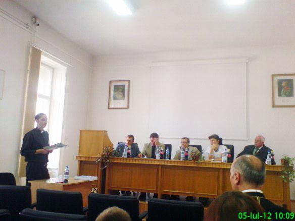 Doctorat în Istorie la Universitatea Babes-Bolyai din Cluj-Napoca,