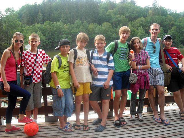 """Tabara de vara cu copiii de 10-14 ani din grupul """"Fondacio – Crestini pentru lume"""","""