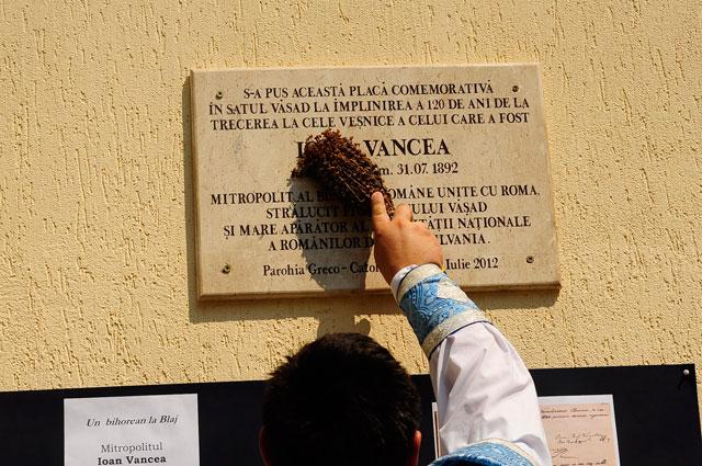 Comemorare la Vasad – Mitropolitul Ioan Vancea de Buteasa (1820-1892),