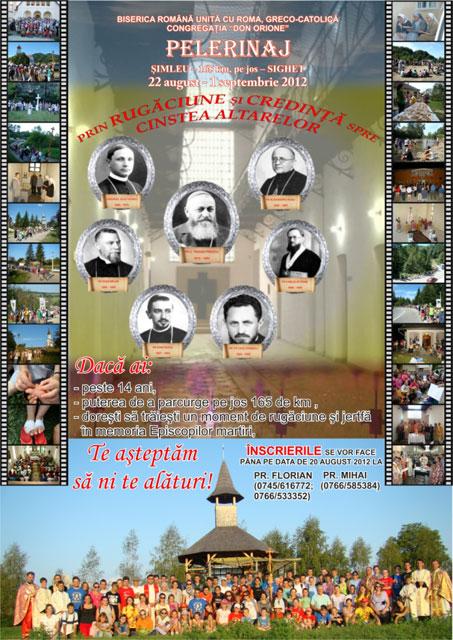 Invitatie: Pelerinaj pe jos de la Simleu Silvaniei la Sighetu Marmatiei,