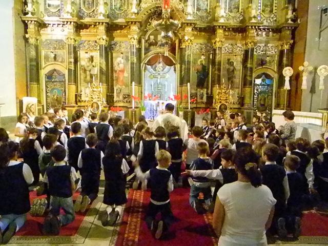 Adoratia euharistica mondiala pentru copii,