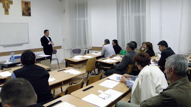 Întâlnirea Departamentului pentru Adulti al Biroului Pastoral Eparhial cu Asociatiile laicale de adulti din Oradea,