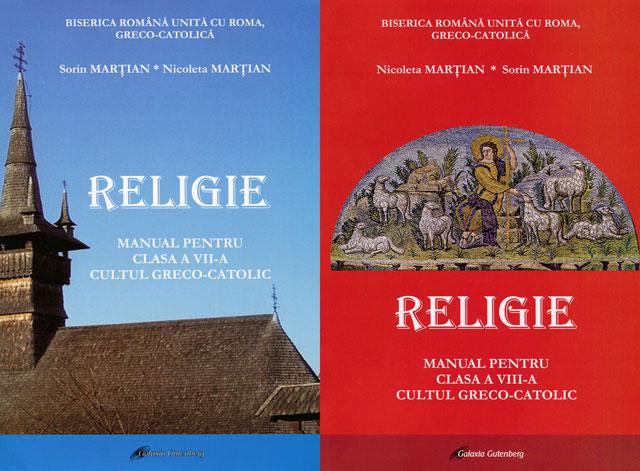 Manuale de religie greco-catolica pentru clasele a VII-a si a VIII-a,