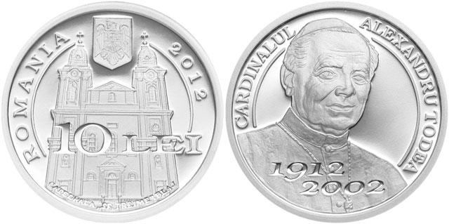 Moneda aniversara Cardinal Alexandru Todea,