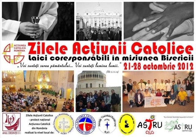 """""""Zilele Actiunii Catolice la Oradea, editia 2012"""","""