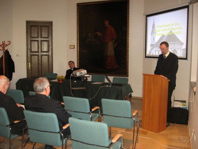 """""""Itinerarii în trecut. Conferinta de istorie bisericeasca – Piliscsaba, 9 noiembrie 2012"""","""