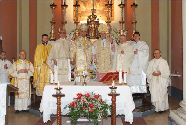 """Vizita pastoral-misionara a PS Virgil in parohia Recanati, provincia Macerata (IT)"","