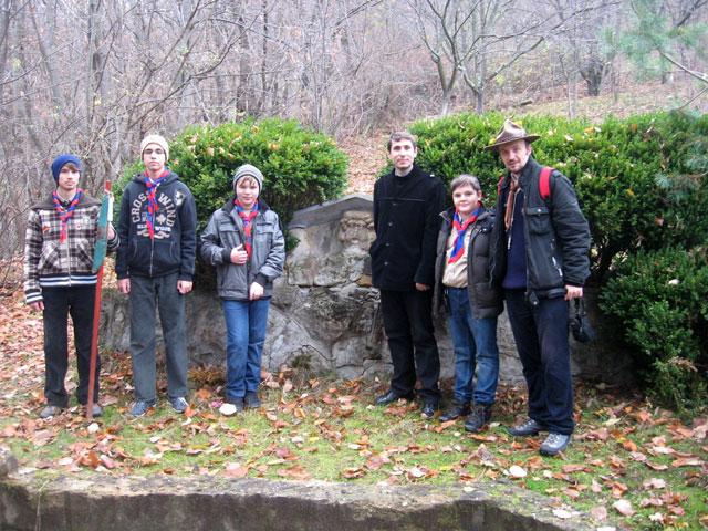 Cercetasii Români Uniti în vizita la Badacin,