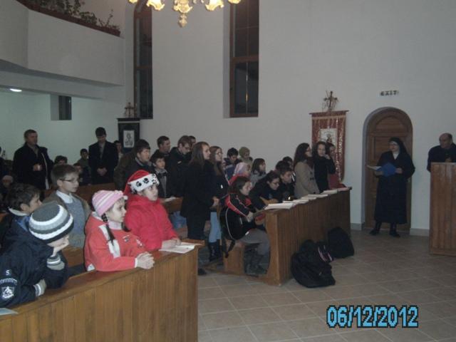 Sarbatoarea Sfântului Nicolae în Parohia din Chilioara (SJ) celebrata de copiii din Protopopiatul Zalau,