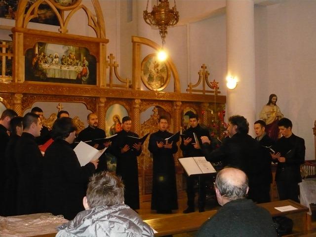 Am pornit sa colindam… Concert de colinde la Parohia Arad-Centru,