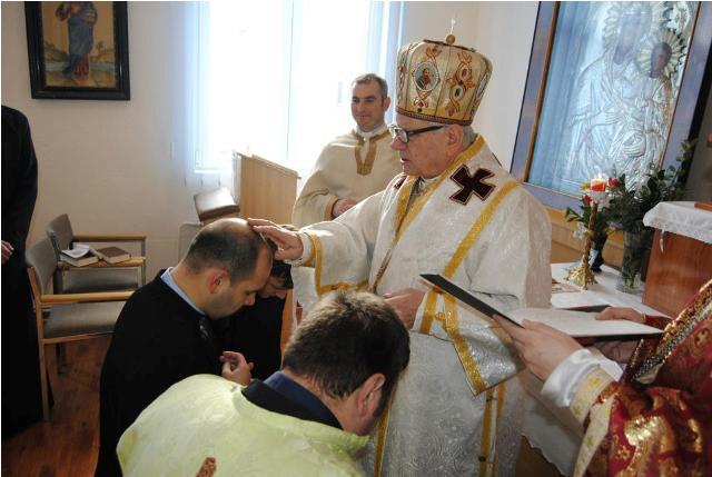 Seminaristi oradeni hirotesiti ipodiaconi la Lugoj,