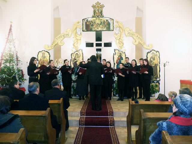 Concert de colinde la Valea lui Mihai,