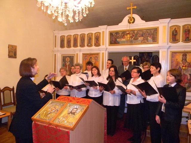 Concert de colinde în Parohia greco-catolica de limba maghiara din Oradea,