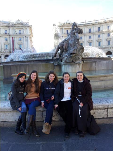 Pelerinajul tinerilor oradeni la Roma cu ocazia întâlnirii europene Taizé,