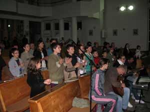 Ora de adoratie pentru copii la Zalau,
