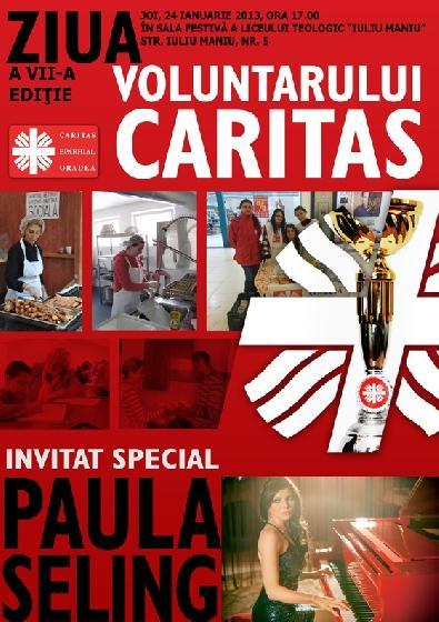 """""""Invitatie: Ziua voluntarului Caritas, editia a VII-a – 24 ian. 2013"""","""