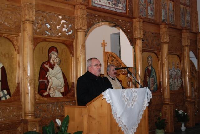 Întâlnire ecumenica la Biserica Greco-Catolica din Beius,