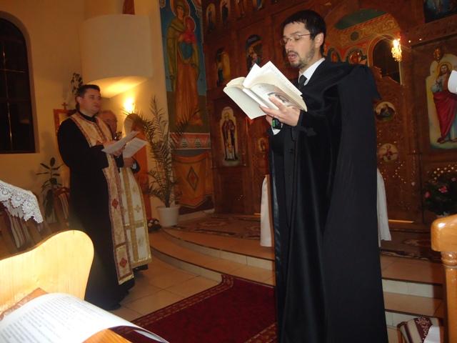 "Seara de rugaciune ecumenica la Biserica Greco Catolica ""Sfintii Apostoli Petru si Pavel"" din Zalau,"