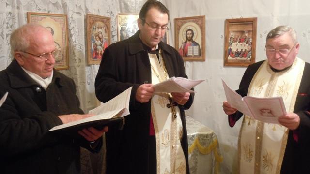 Seara de rugaciune ecumenica în comunitatea greco-catolica din Poiana,