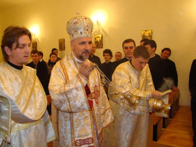 Hramul Seminarului Teologic Greco-Catolic din Oradea,
