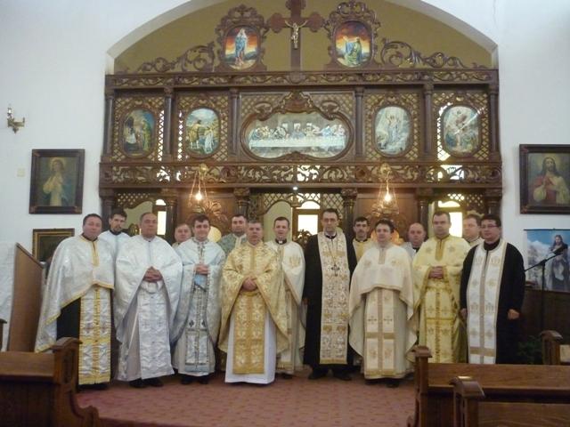 Întâlnirea Biroului Pastoral Eparhial pentru Laici Oradea cu preotii din protopopiate,