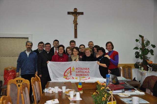 Întâlnirea Consiliului Director al Actiunii Catolice din România,