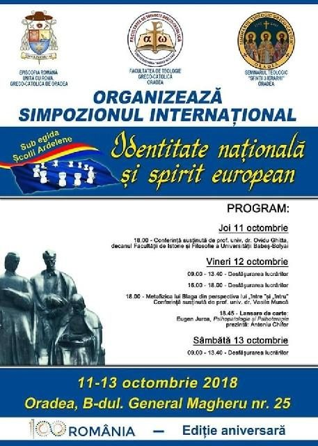 Invitatie la Simpozion International,