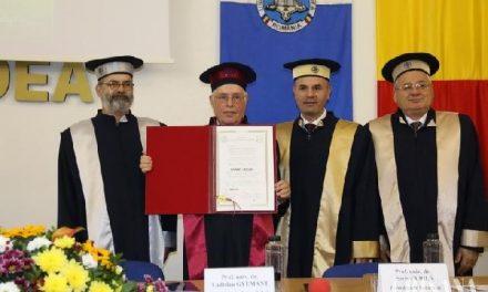 """""""Ladislau Gyémant, onorat la Universitatea din Oradea – Doctor Honoris Causa"""","""